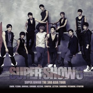 """[PRE-ORDER] Super Junior - 3th ASIA Tour Concert Album """"SUPER SHOW #3"""" (2CD)"""