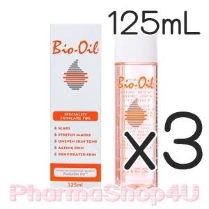 (ซื้อ3 ราคาพิเศษ) Bio Oil 125mL ไบโอออยล์ ช่วยรักษาแผลเป็น ผิวแตกลาย สีผิวไม่สม่ำเสมอ ผิวเสื่อมสภาพ ผิวขาดความชุ่มชื้น