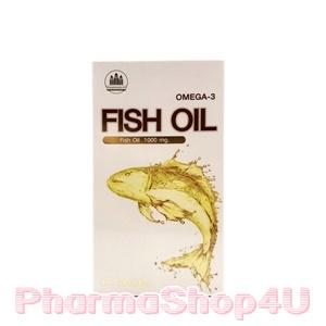 Pharmahof Fish Oil Omega-3 1000mg 60เม็ด น้ำมันปลา ลดคอเลสเตอรอล ลดอาการปวดข้อ ลดไขมันในเส้นเลือด