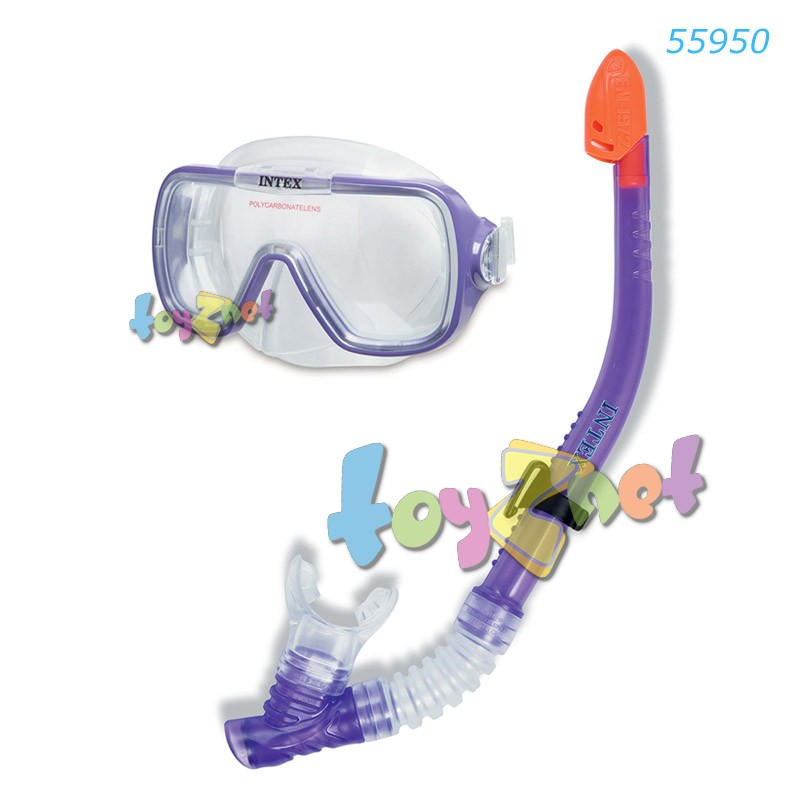 Intex ชุดหน้ากาก-ท่อหายใจ เวฟไรเดอร์ รุ่น 55950