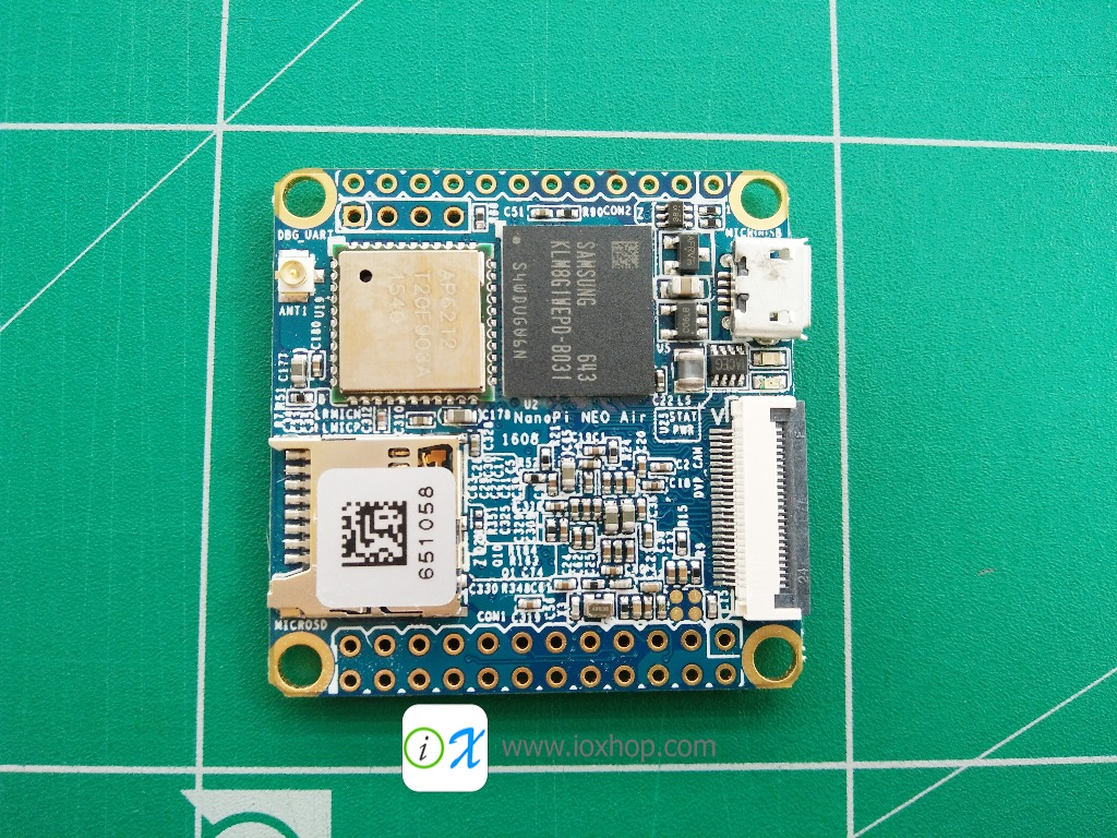 NanoPi NEO Air Embedded OS Board 512MB of Ram CPU 1.2GHz WiFi Bluetooth