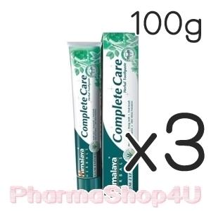 (ซื้อ3 ราคาพิเศษ) Himalaya Complete Care 100g ยาสีฟันสมุนไพร หิมาลายา สกัดจากธรรมชาติ100% ลดปัญหากลิ่นปาก ลดอาการเหงือกอักเสบ ให้ฟันขาวสะอาด