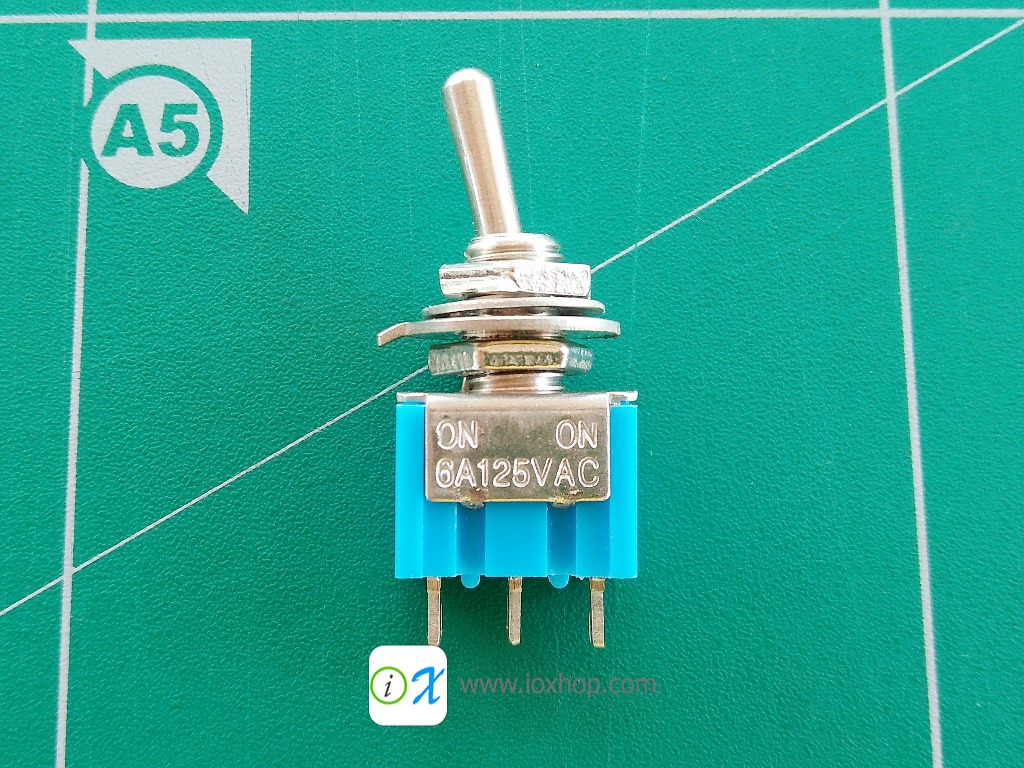 SPDT ON-ON 6A Toggle Switches สวิตซ์โยก