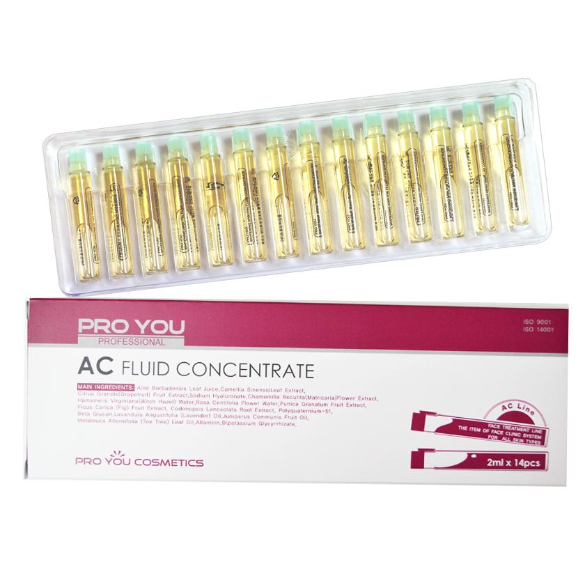 Proyou AC Fluid Concentrate 2ml (เซรั่มชนิดเข้มข้น ช่วยปรับสภาพและดูแลผิวที่เป็นสิวหรือผิวมัน) สำเนา