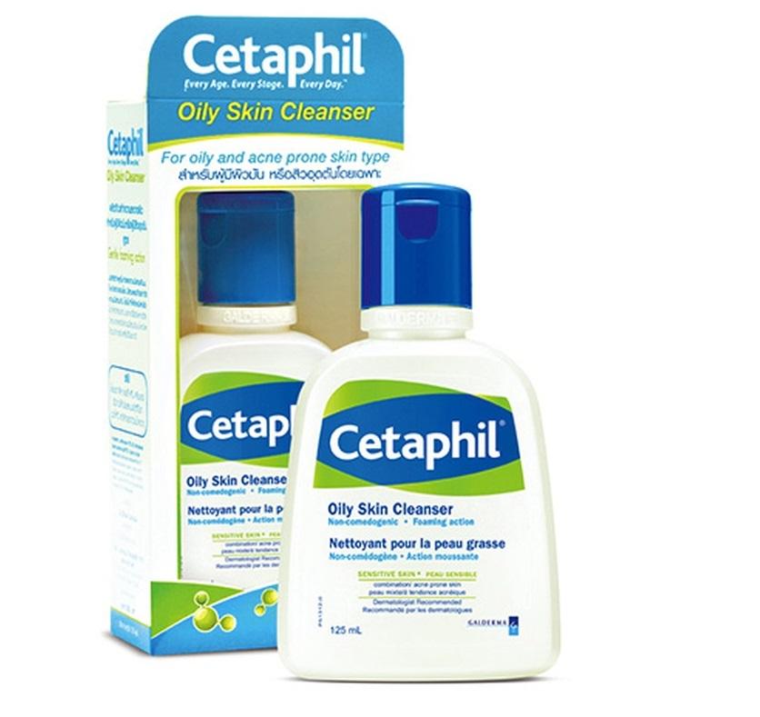 Cetaphil oily skin cleanser 125ml สำเนา