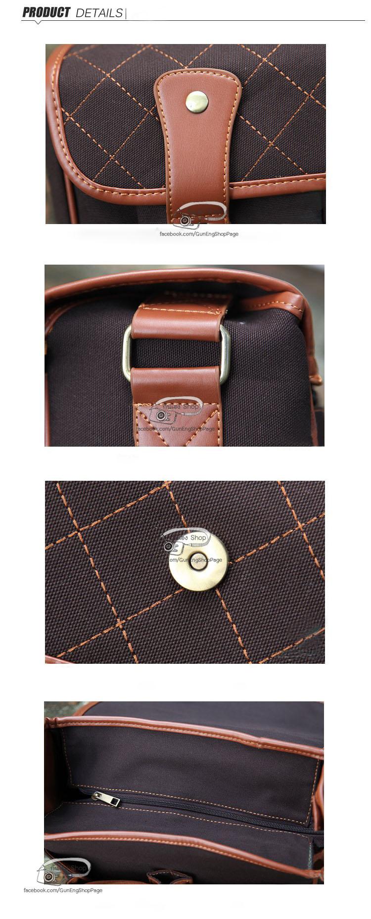 กระเป๋ากล้อง Modern Bag สีดำ