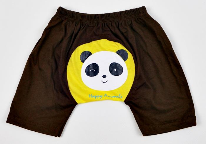 กางเกงก้นบานสกรีนลาย size M (1-2 ขวบ)