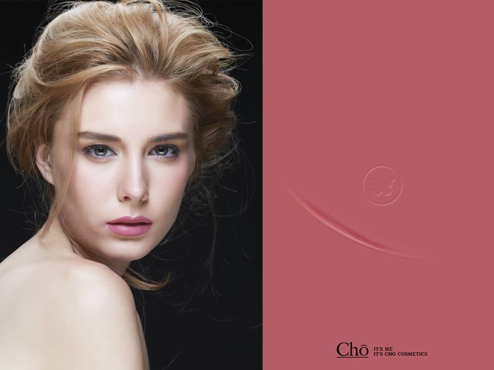 ลิปสติกโช (Cho) #05 Lana Queen - สีชมพูอมม่วง เก๋ไม่เหมือนใคร