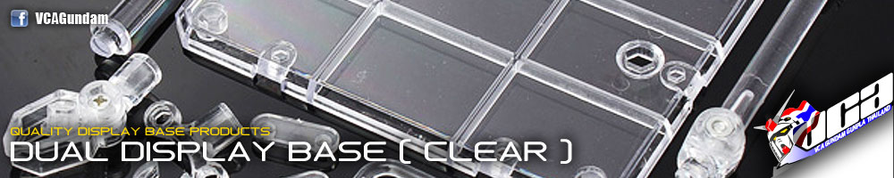 Dual Display Base (Clear)
