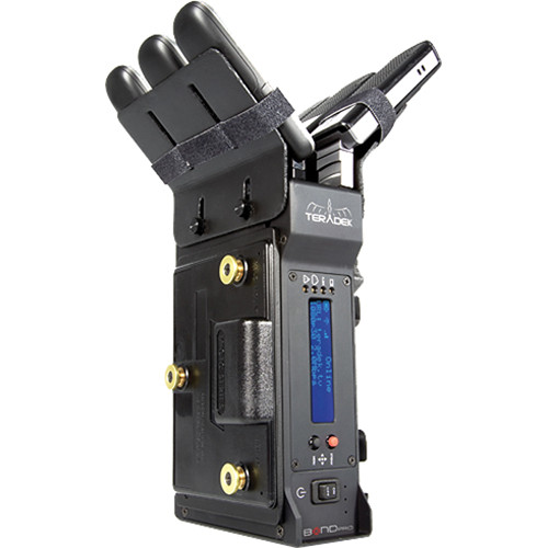 Teradek Bond Pro Integrated Camera-Back H.264 Cellular Bonding Solution HD-SDI (V-Mount)