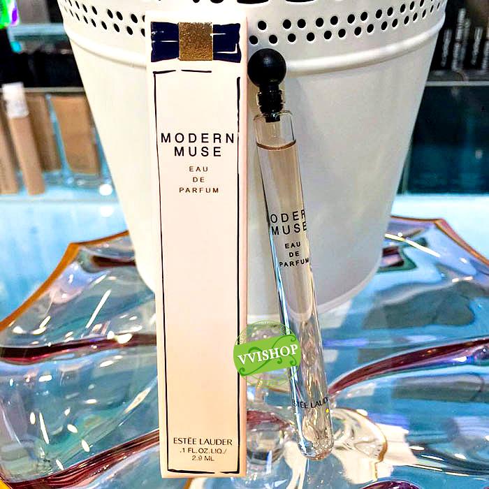 Estee Lauder Modern Muse EDP 2.9 ml. กลิ่นหอมหวาน ติดทนนาน กลิ่นไม่แรงมากออกได้ทั้งงานกลางวันและกลางคืน