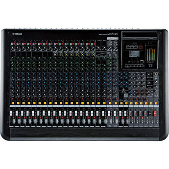 YAMAHA MGP24X 24-CHANNEL ANALOG MIXING CONSOLE WITH DSP EFFECTS