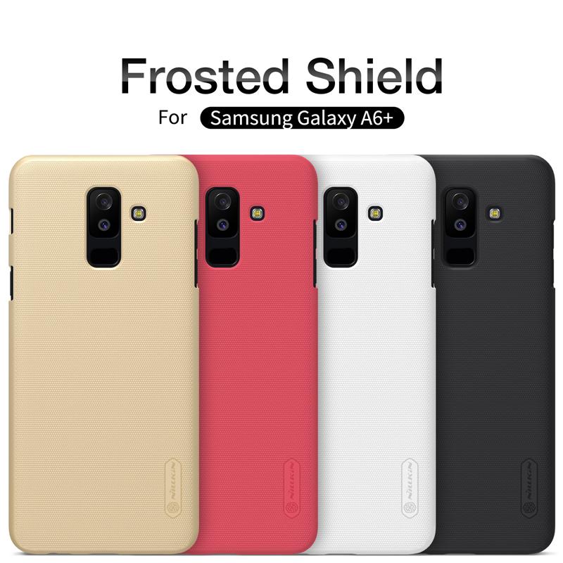 เคส NILLKIN Super Frosted Shield Galaxy A6+ / A6 Plus 2018 แถมฟิล์มติดหน้าจอ