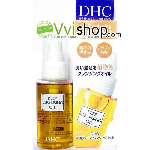 DHC Deep Cleansing Oil 70 ml. (Inbox) คลีนซิ่งออยล์ สุดฮิต สุดฮอต สุดเลิฟ ที่ทำความสะอาดได้ลึกถึงรูขุมขน *พร้อมส่ง*