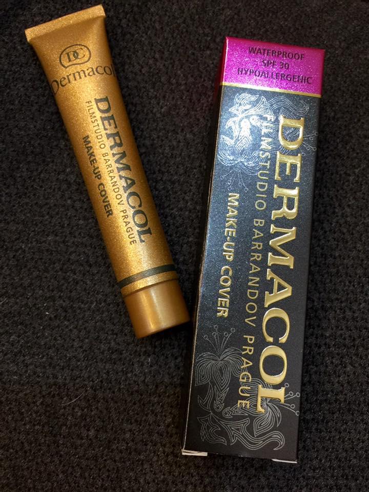 Dermacol Make-Up Cover Waterproof SPF30 30g # 207 ผิวขาวเหลือง รองพื้น ปกปิด เนียนเรียบ กันน้ำ กันแดด ไม่โบ๊ะ ดูไม่หลอก