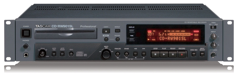 TASCAM CD-R901/901SL compact Disc Recorder Balanced AES/EBU.Opt.Cox