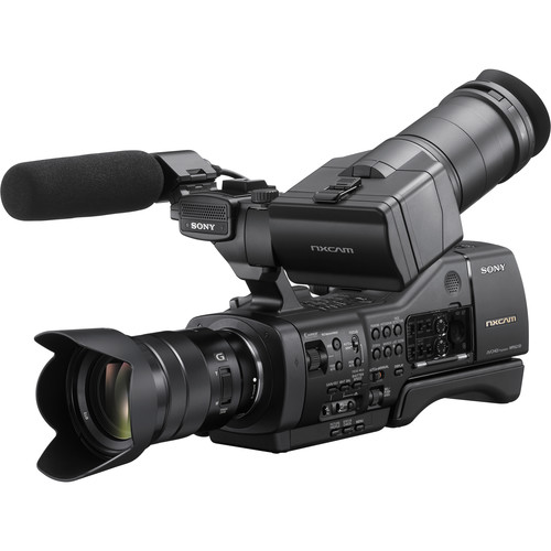 Sony NEX-EA50M NXCAM Camcorder with 18-105mm f/4 Servo Zoom G Lens