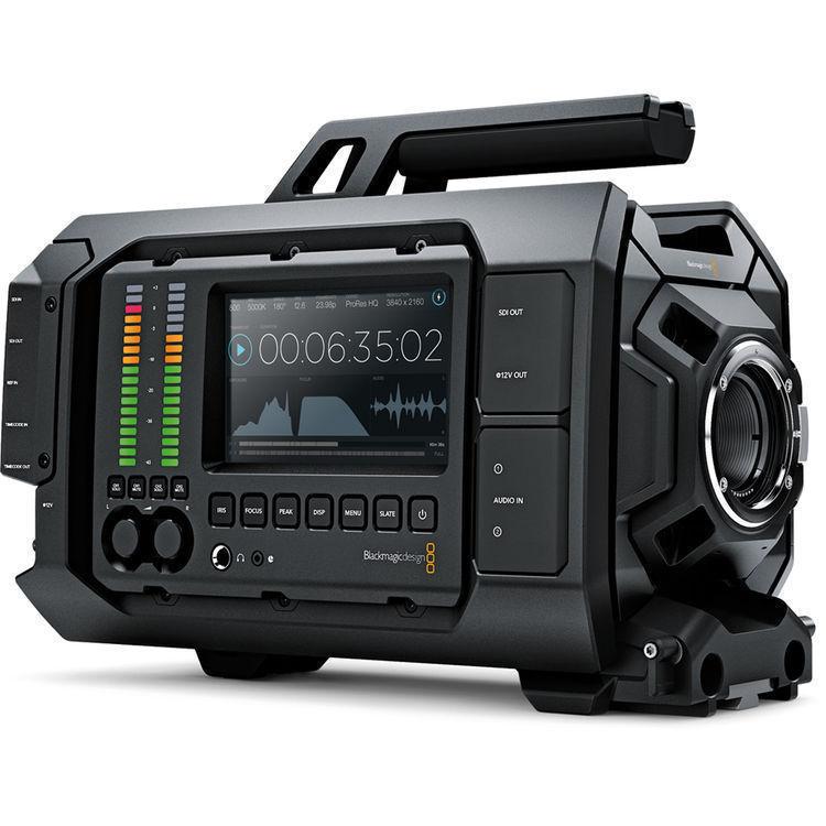 Blackmagic Design URSA 4.6K Digital Cinema Camera (Canon EF Mount) มาพร้อม DaVinci Resolve เวอร์ชั่นเต็ม