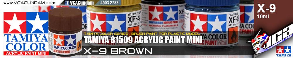 ACRYLIC X-9 BROWN