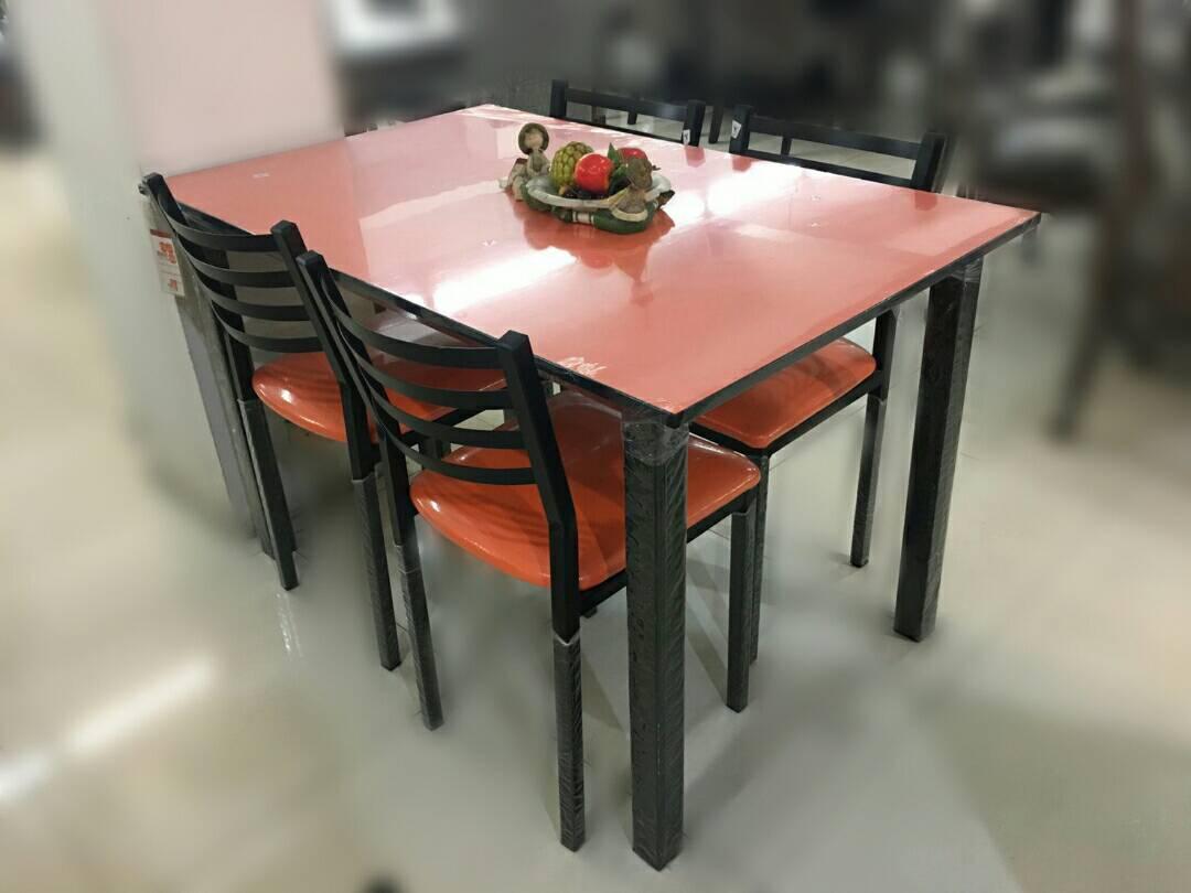 ชุดโต๊ะอาหาร 4 ที่นั่ง KING