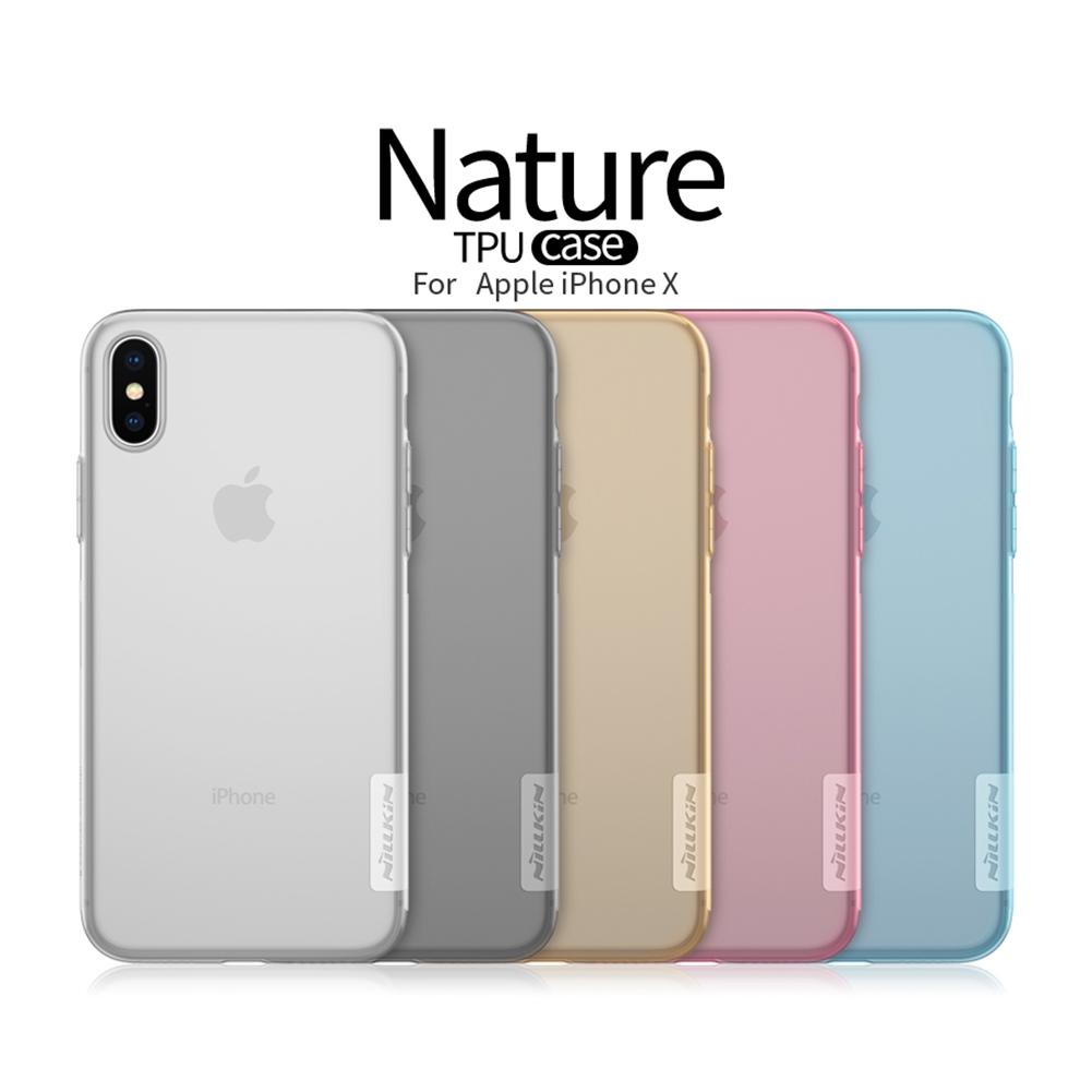 เคสใส NILLKIN TPU Case เกรด Premium iPhone X