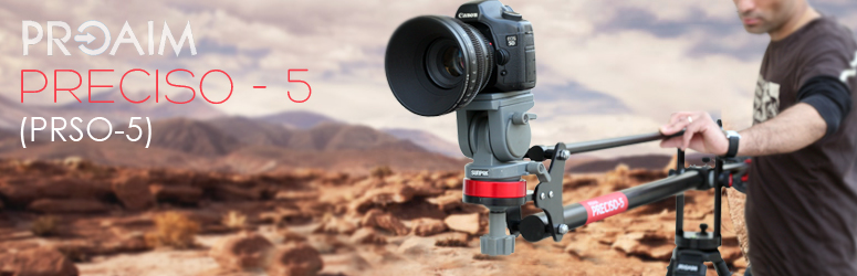 Proaim Preciso-5 5Ft Jib Camera Crane Supporting Cameras weighing upto 3.6kg / 8lbs (PRSO-5)