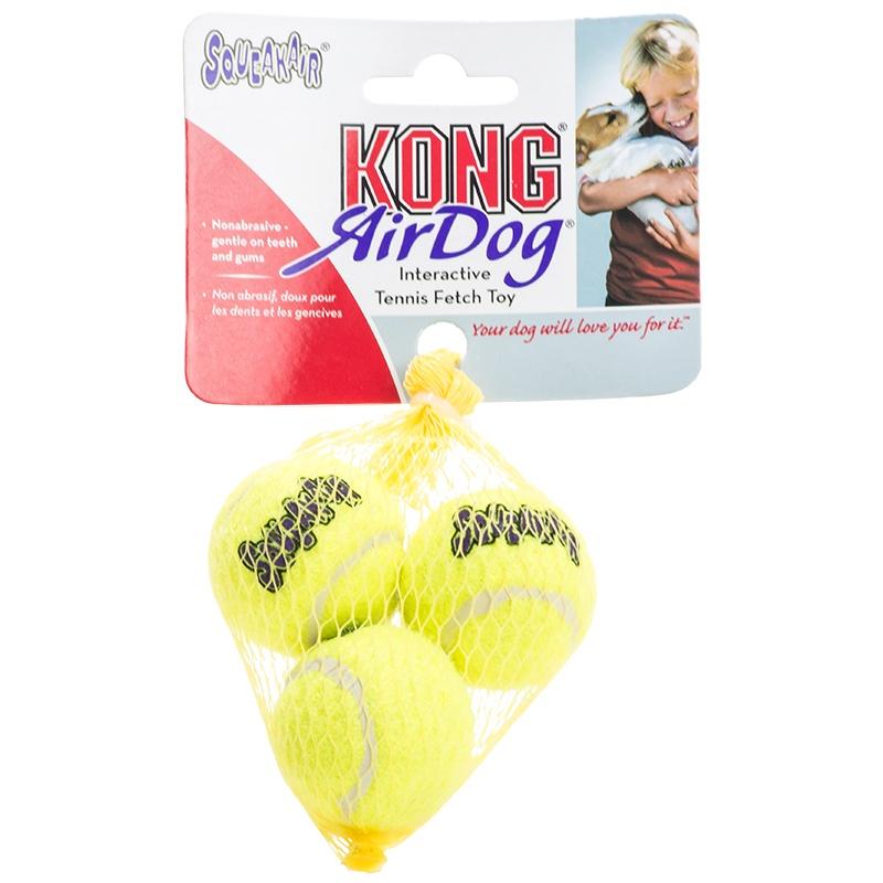 """ลูกเทนนิส Kong ขนาดเล็กสุด 3 ลูก (X-Small 1.5"""")"""
