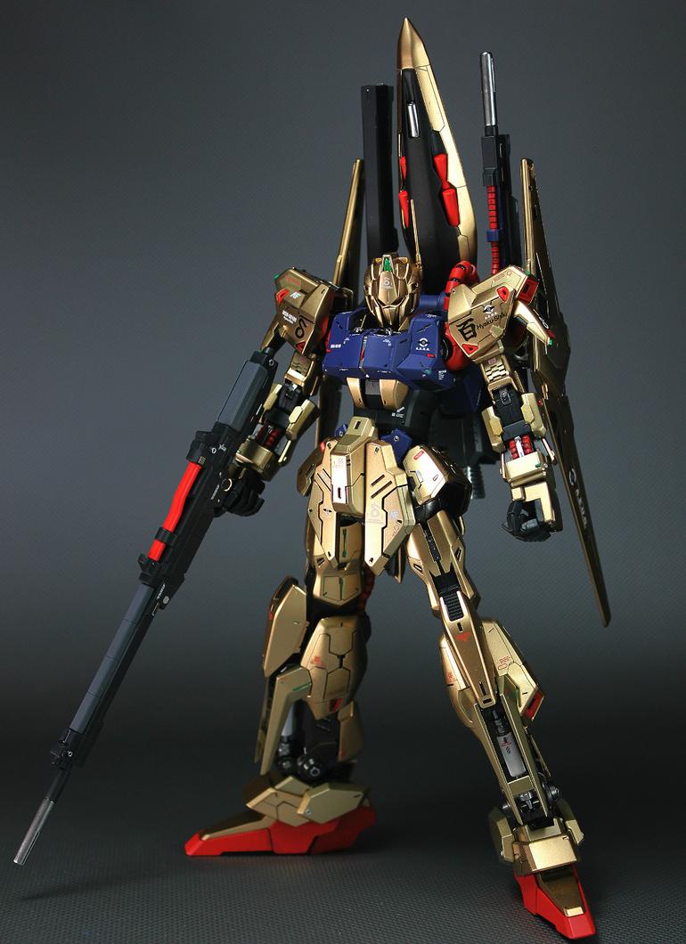 MG 1/100 Hyaku Shiki | Modeled by Kouichi