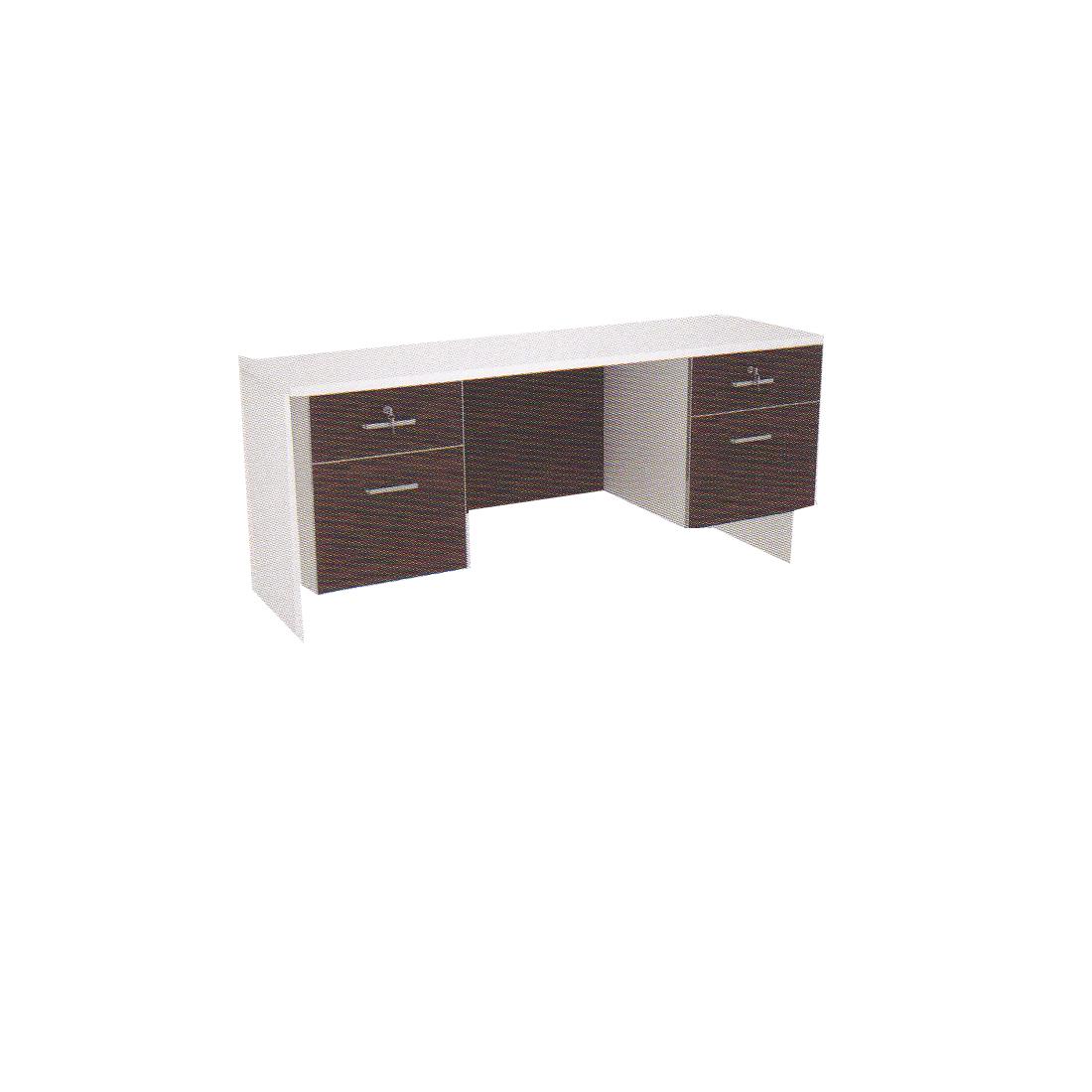 โต๊ะทำงาน 1.60 ม. 2 ลช.ซ้าย-ขวา TDK-P1622