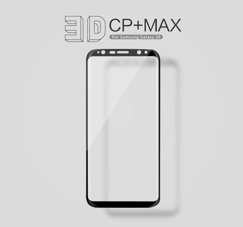กระจกนิรภัย NILLKIN 3D CP+ MAX Galaxy S8 สีดำ