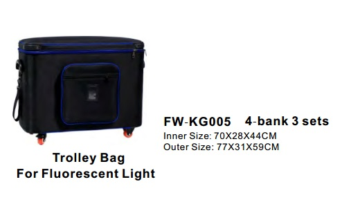 Batteries, Chargers, On-Camera Light Accessries, Cases & Bags F W-K G005