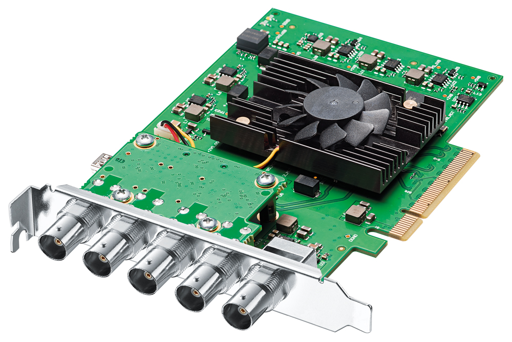 Blackmagic Design DeckLink 4K Pro 12G - SDI Video Capture & Playback Card รองรับ ซ็อฟแวร์ ยอดนิยม