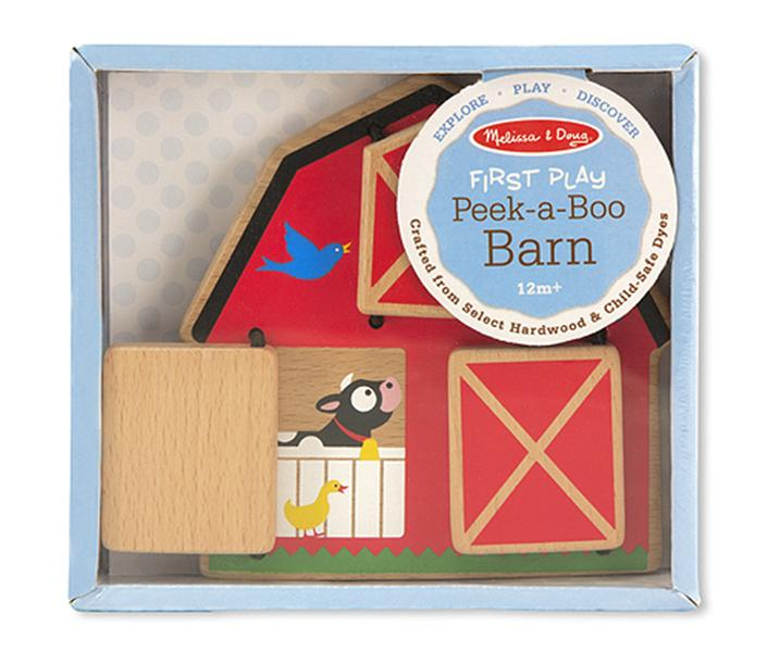 Melissa and doug Peek-a-Boo Barn Baby & Toddler Toy