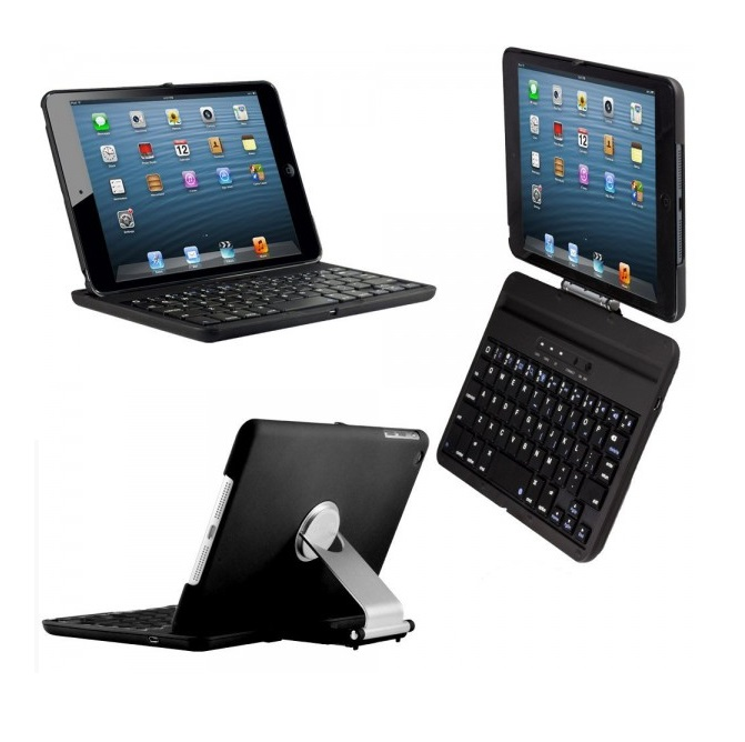 (iPad mini 1/2/3) Case + Keyboard Bluetooth หมุนได้ 360 องศา (เคสคีย์บอร์ดไอแพดมินิ 1/2/3)