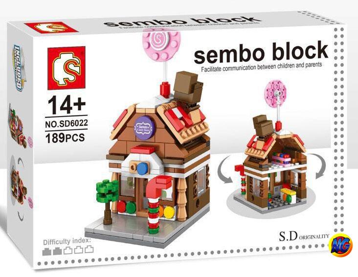 Sembo Block SD6022 ร้าน Candy Shop