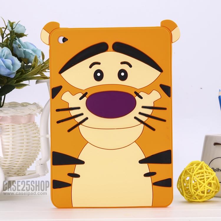 เคสซิลิโคนเสือทิกเกอร์ (เคส iPad mini 4)