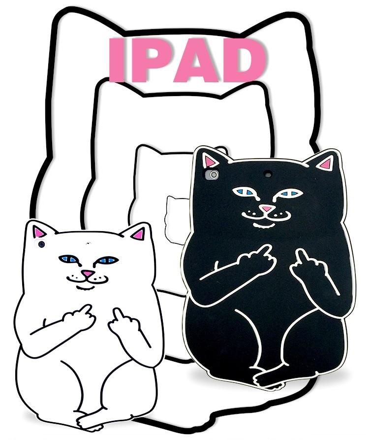 เคสซิลิโคน แมวดำ แมวขาว (เคส iPad mini 4)