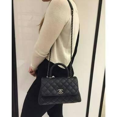 *Chanel Coco Handle Bag *