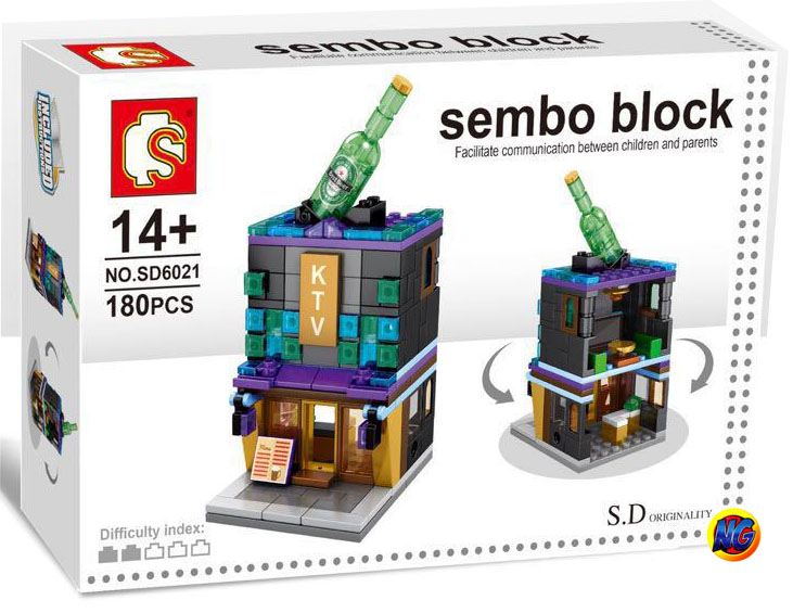 Sembo Block SD6021 ร้าน Heineken
