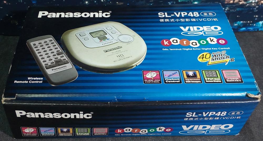 Panasonic SL-VP48 มือหนึ่ง