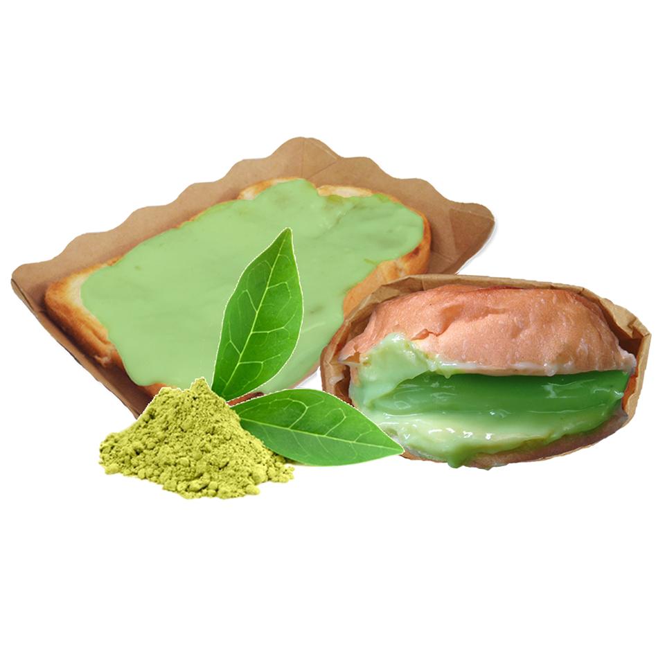 ผงไส้ขนมปัง-รสชาเขียว