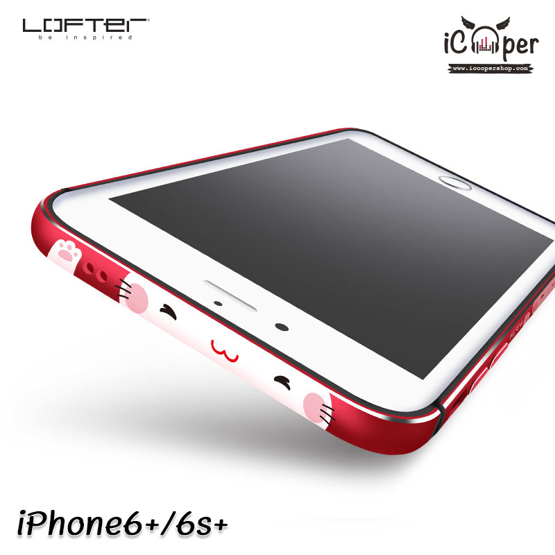 LOFTER Meow Bumper - Red (iPhone6+/6s+)
