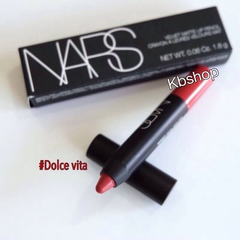 #Nars Velvet Matte Lip Pencil ขนาด 1.8g สี Dolce Vita
