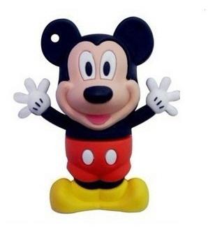 แฟลชไดร์ฟมิกกี้เมาส์(Mickey Mouse) ความจุ 8 GB