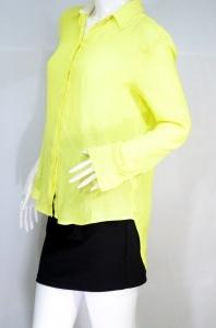 JASPAL เสื้อเชิ๊ตแขนยาว สีเหลือง