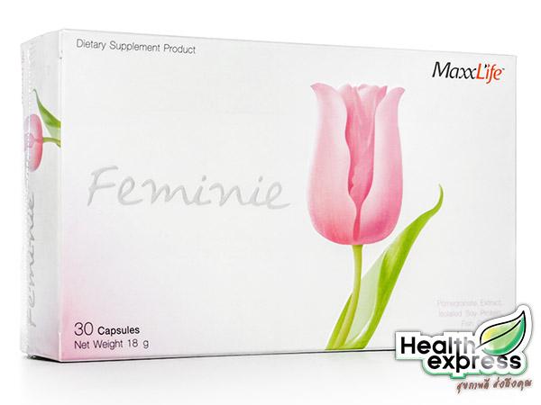 Maxxlife Feminie แม็กซ์ไลฟ์ ฟิมินี บรรจุ 30 แคปซูล