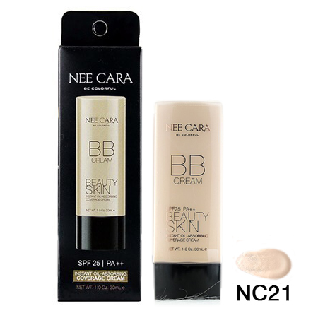 NEE CARA Instant Oil-Absorbing Coverage Cream NC21