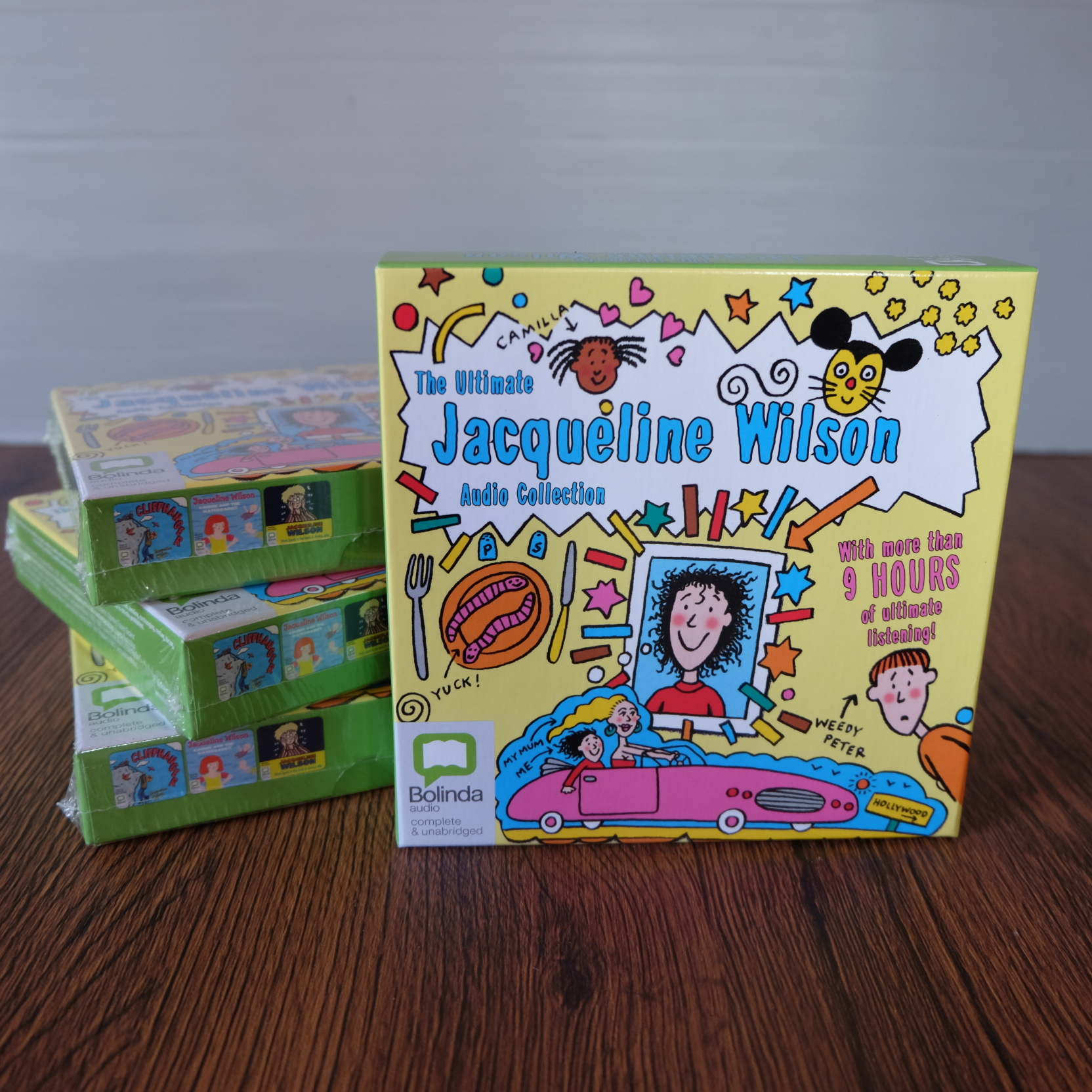 The Ultimate Jacqueline Wilson Audio Collection - 10 CDs 1200รวมอีเอมเอส