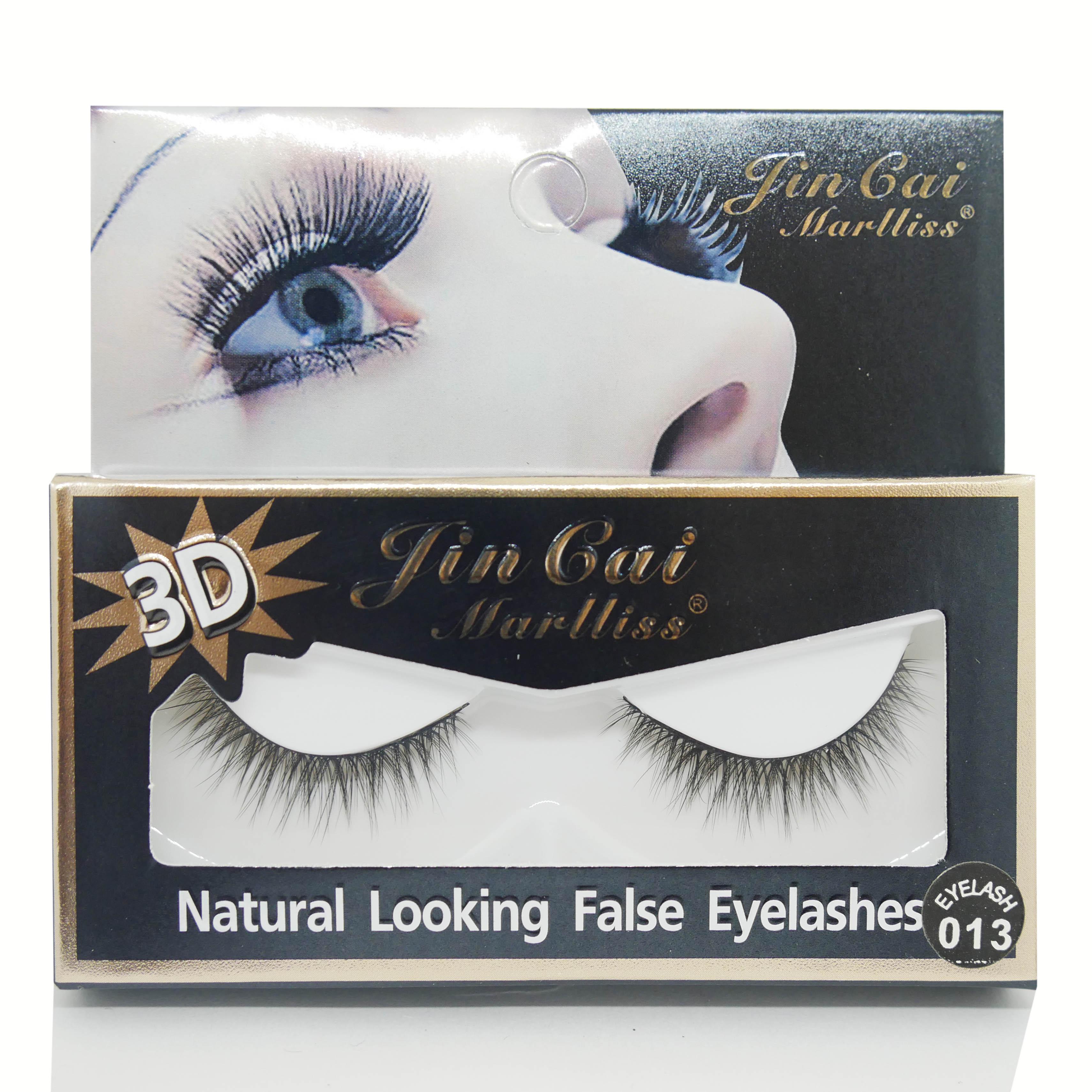 ขนตาปลอม Lin Cai Marlliss 3D (1คู่) Eyelash 013