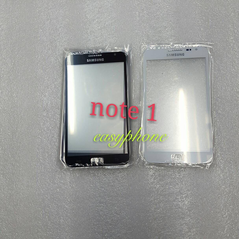 แผ่นกระจกหน้าจอ Galaxy Note1(i9220) สีขาว//สีดำ